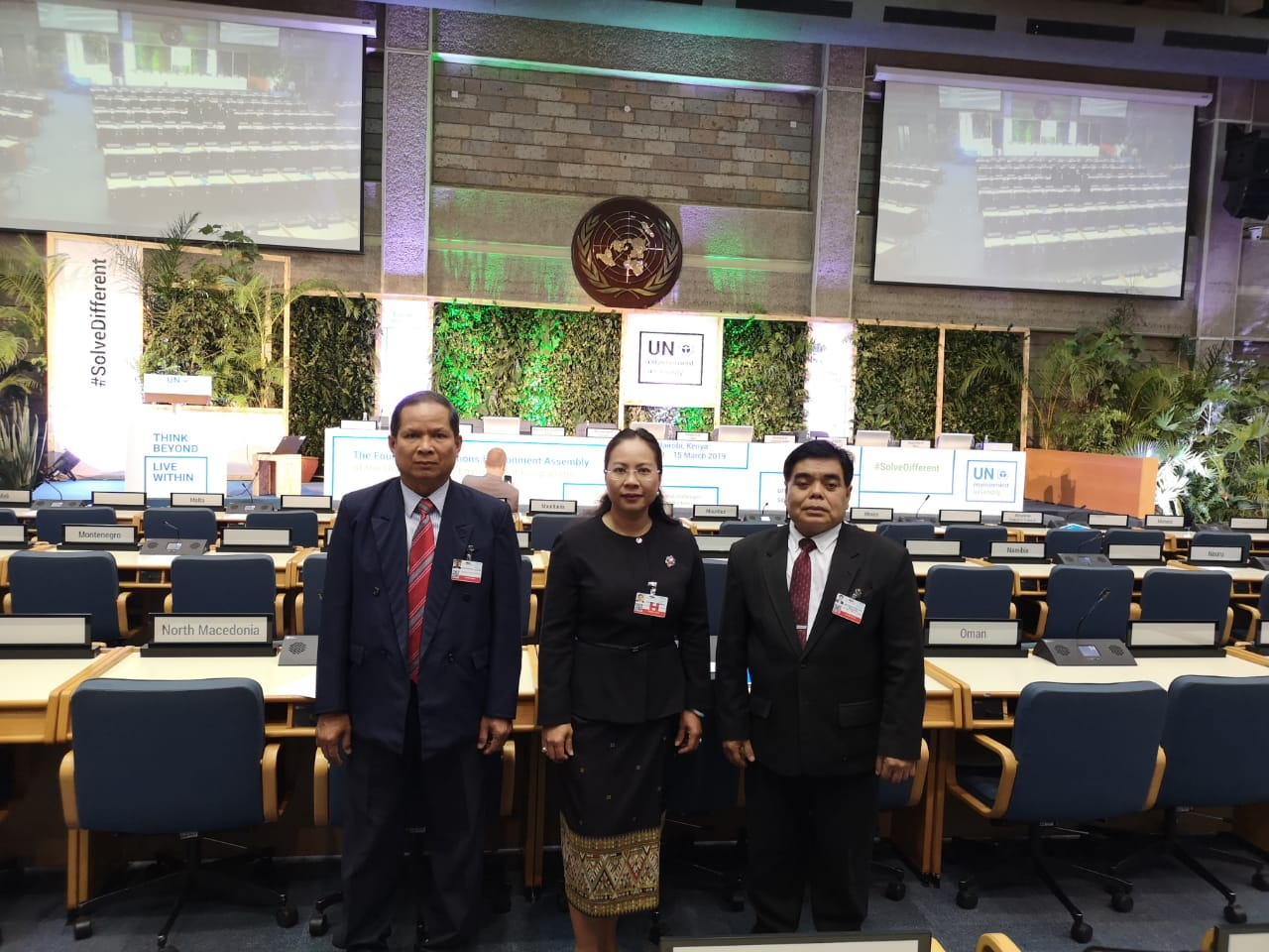 Lao delegates attended the Fourth Session of the UN Environment Assembly (UNEA-4) in Nairobi